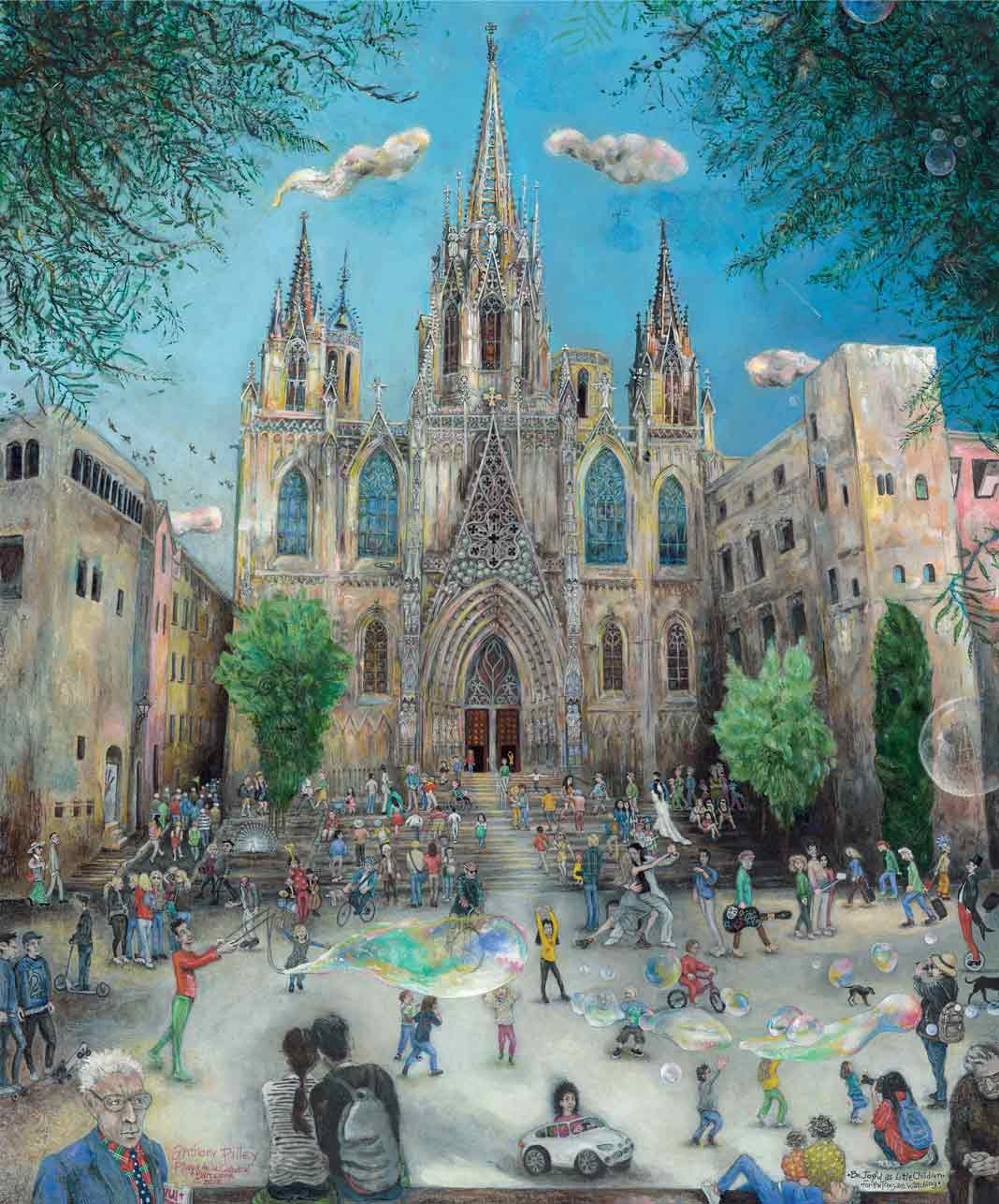 Barcelona Cathedral by Anthony Pilley